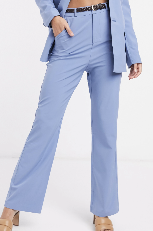 Pantalones de pernera ancha de Fashion Union