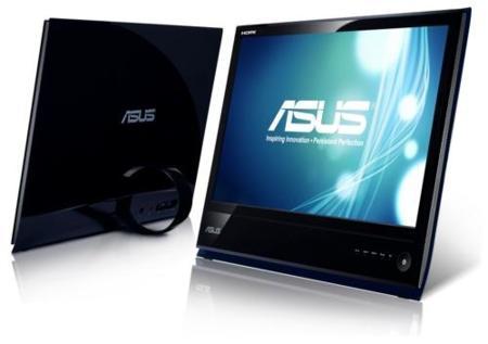 Asus le da un diseño genial a sus últimos monitores LED