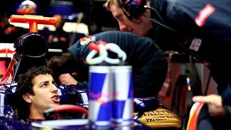 Daniel Ricciardo enfocado en derrotar a Jean-Eric Vergne