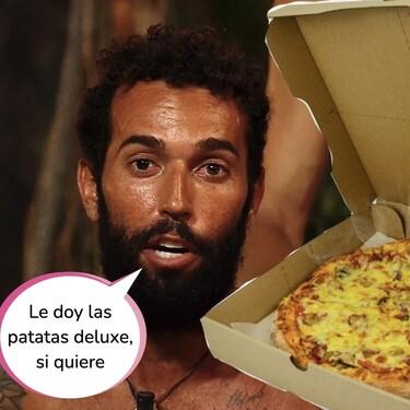 El egoísmo de Omar en 'Supervivientes': se niega a compartir una pizza y la audiencia pide su expulsión