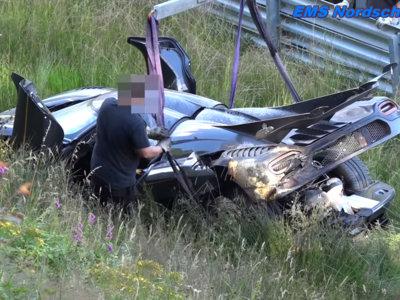 El accidente del Koenigsegg One:1 en Nürburgring se debió a un fallo del ABS