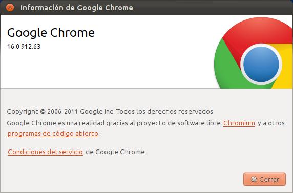Chrome 16