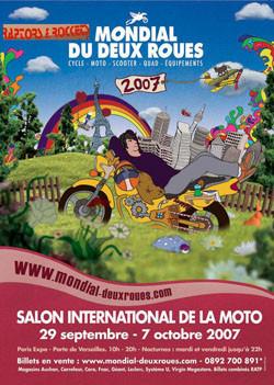 Salón mundial de las dos ruedas en París