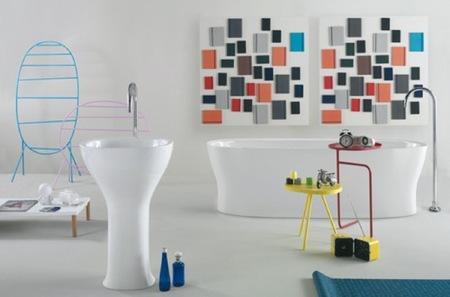 Los nuevos lavabos de Luca Nichetto revolucionando el cuarto de baño