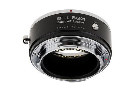Conoce el adaptador de objetivos EF y EF-S a sistemas de montura L Fotodiox con tecnología Fusion