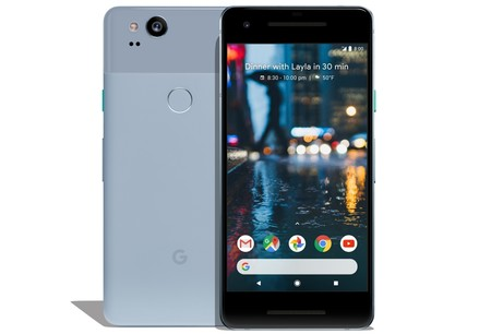 Pixel Kinda Blue Front And Back
