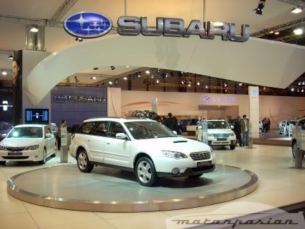 La renovada gama de Subaru se expone en el Salón de Madrid