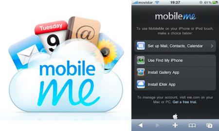 MobileMe se actualiza y permite el acceso desde el iPhone e iPod touch