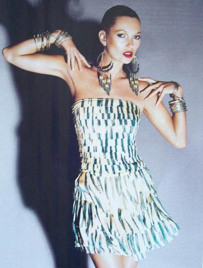Kate Moss para Topshop Verano 2009