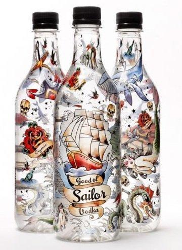 Good ol' Sailor Vodka, una bebida ecológica