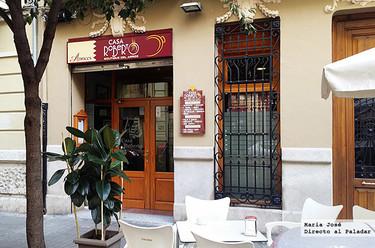 Restaurante Casa Roberto, la auténtica paella valenciana