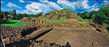 Tazumal Panoramica
