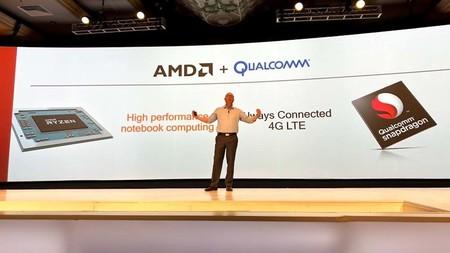 AMD y Qualcomm hacen equipo, los procesadores Ryzen tendrán conectividad LTE en sus portátiles