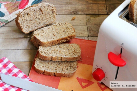 Receta de pan de molde multicereales hecho en casa