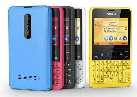 Nokia Asha 210 en México