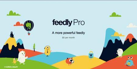 Feedly lanza una versión premium con pocas ventajas por ahora