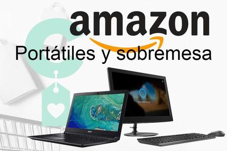 5 ofertas en portátiles y sobremesa en Amazon: los lunes también se puede ahorrar estrenando equipo