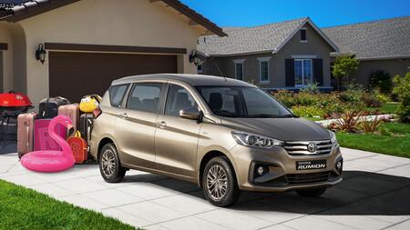 Toyota ya tiene su propio Ertiga: el Toyota Rumion es su colaboración más reciente con Suzuki