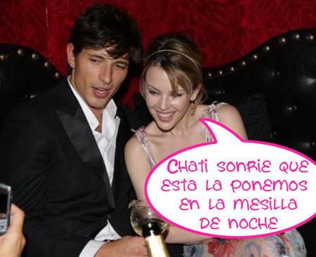 Kylie Minogue y Andrés Velencoso se van a vivir juntos