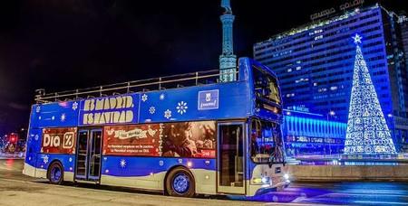 Recorre la iluminación navideña de Madrid con el Naviluz, el bus de la Navidad