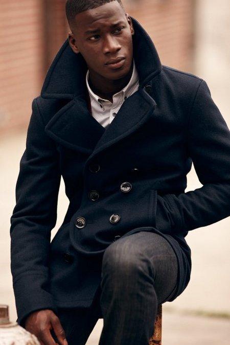 El 'peacoat', el abrigo preferido de este otoño-invierno 2012/2013. Especial street style (III)