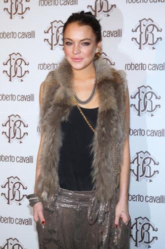 Celebrities en la Semana de la Moda de Milán, Lindsay Lohan I