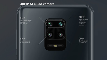 Xiaomi Redmi Note 9s Camaras