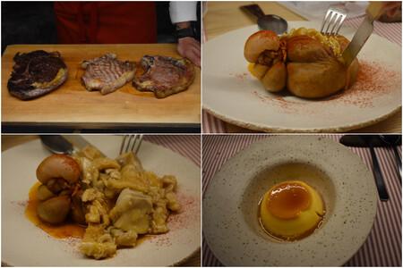 Seleccion De Carnes De Julio Rodriguez Botillo De Callos Y Flan Cremoso