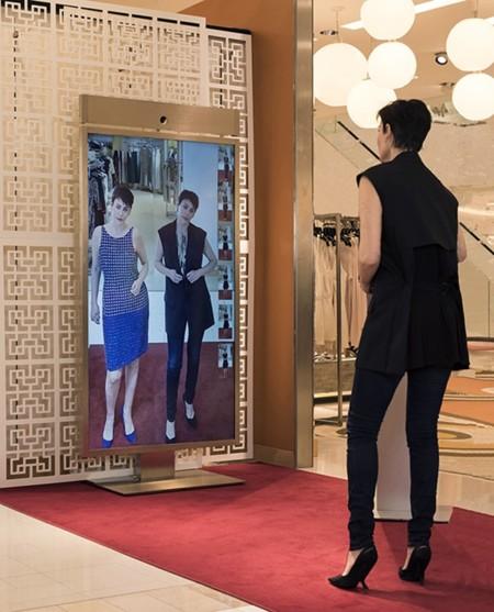 El espejo mágico Memomi revolucionará los probadores del futuro, perdón, del presente