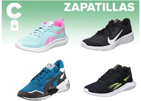Chollos en tallas sueltas de  zapatillas Nike, Adidas, Puma o Reebok en Amazon