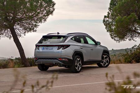 Hyundai Tucson Hybrid 2021 prueba