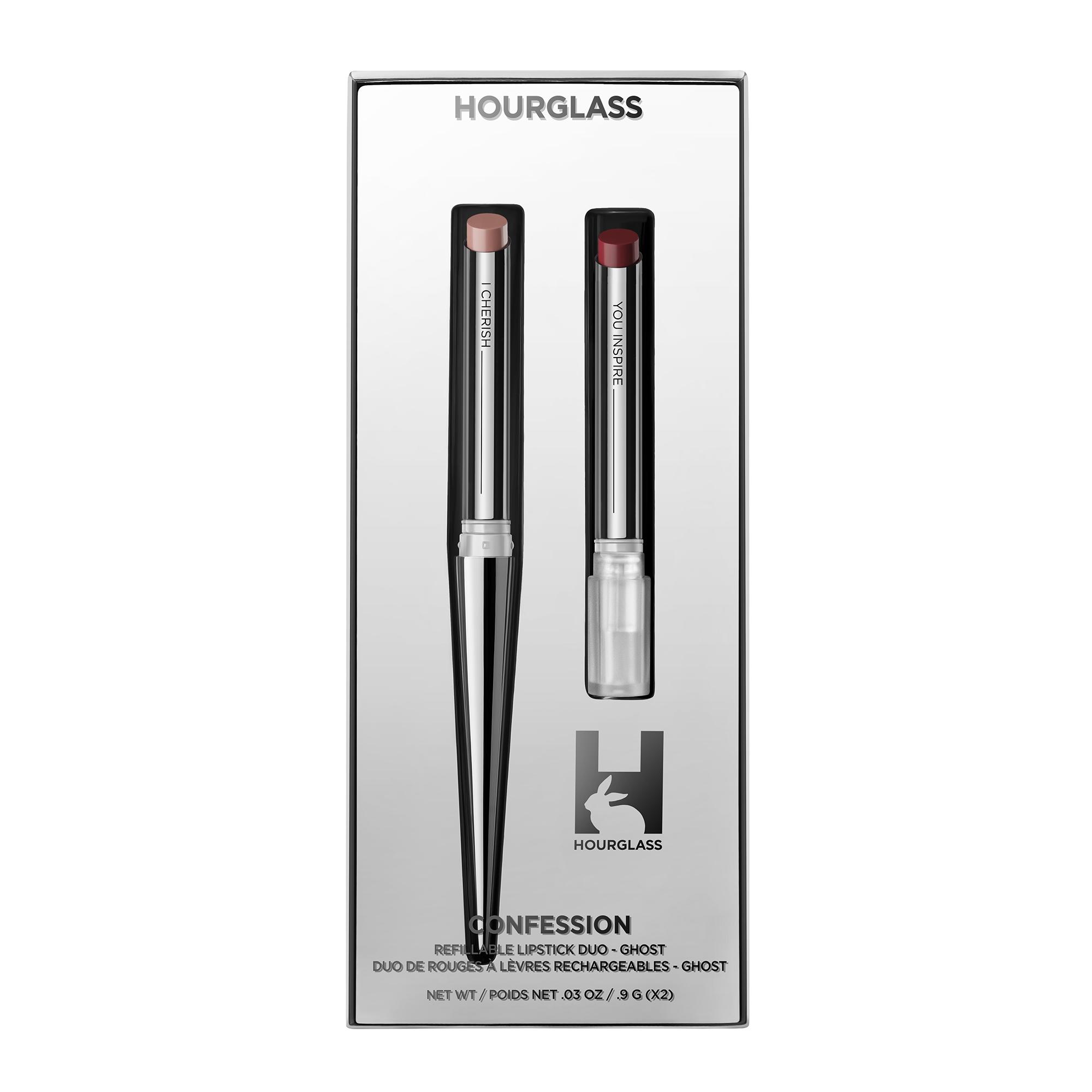 Duo de barra de labios recargables de Hourglass
