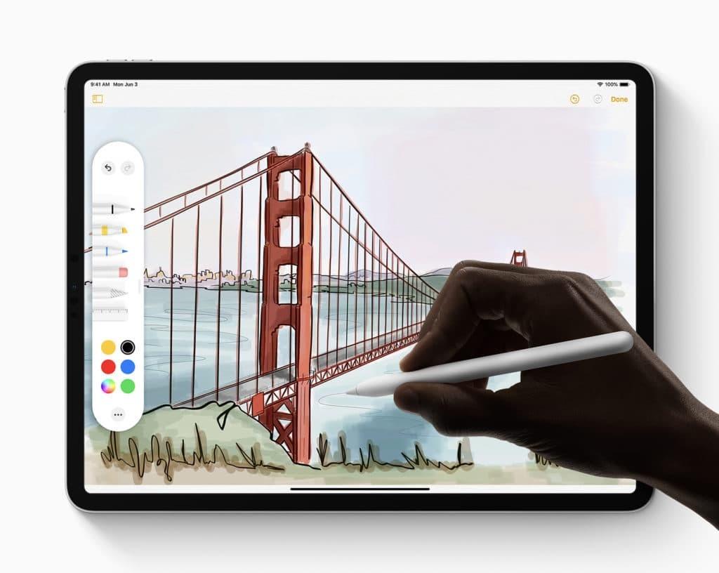 Apple tiene alguna nueva idea para que escribir con el Apple™ Pencil sea como con lápiz y papel real: respuestas hápticas