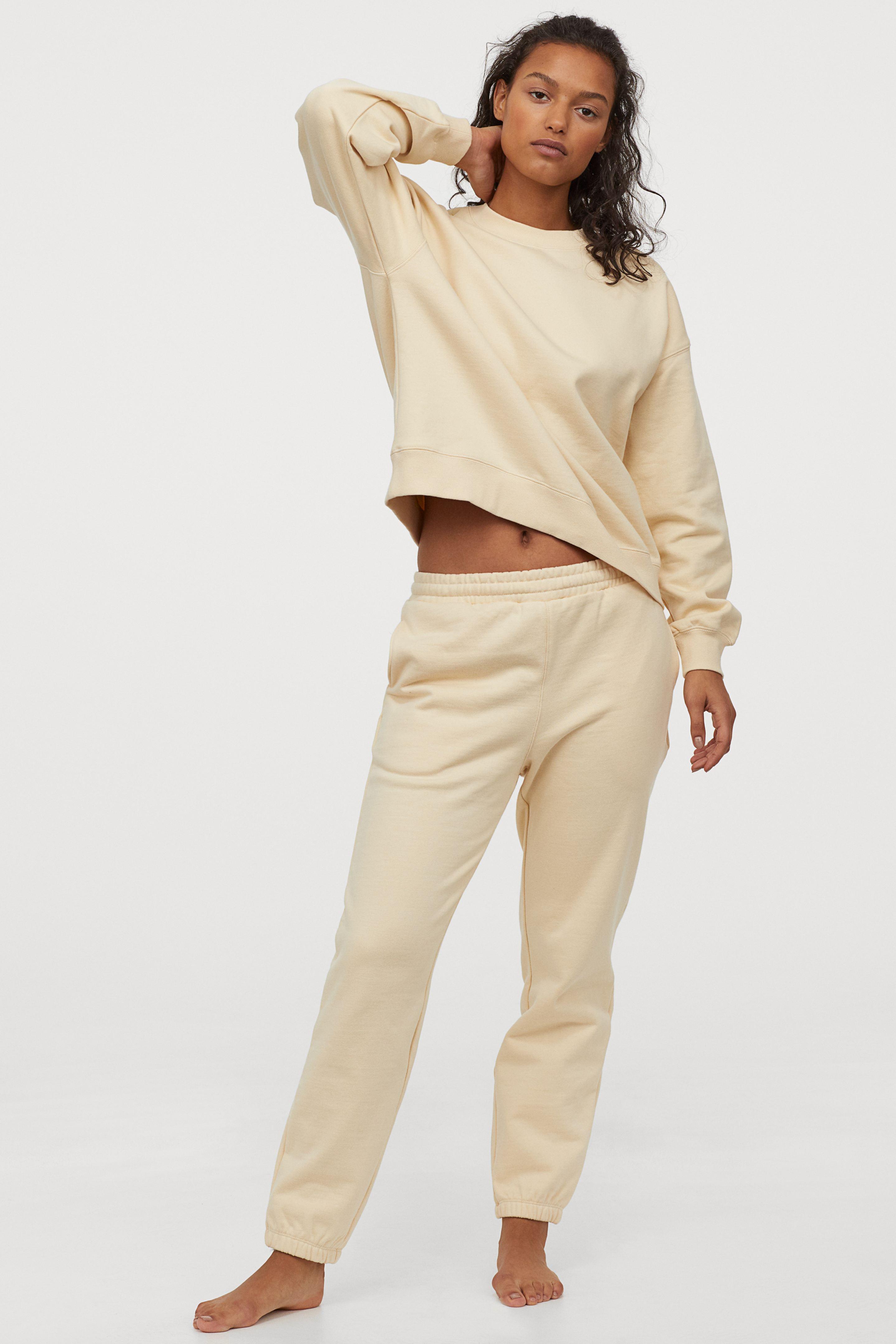 Pantalón de chándal de algodón