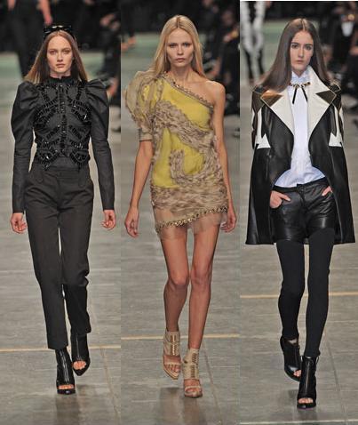 Givenchy en la Semana de la Moda de París Primavera-Verano 2009