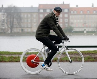 Copenhagen Wheel, la bicicleta 2.0 del MIT