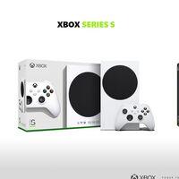 Este es el diseño de la caja donde viene la Xbox Series S. Y es tan elegante como el de la Xbox Series X