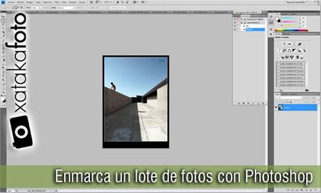 enmarcar fotos con photoshop
