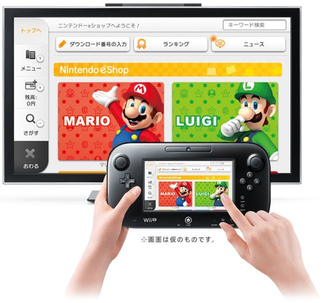 Nintendo eShop de Wii U