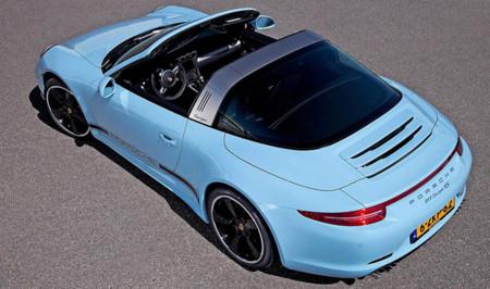 """Porsche 911 Targa 4S Exclusive Edition: 15 unidades para Holanda en azul """"Gulf"""""""