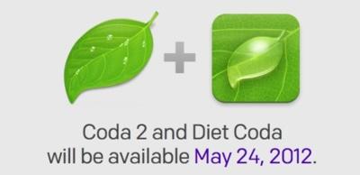 Coda 2 y Diet Coda, interesantes novedades llegarán de la mano de Panic el 24 de mayo