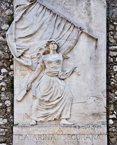 Catherine Segurane Monument Nice