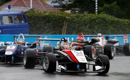 Max Verstappen Lluvia Norisring 2014 FIA F3