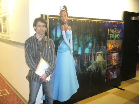 'Tiana y el sapo' en los Walt Disney Studios