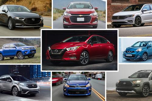 Los 49 autos más vendidos de México durante la primera mitad de 2020