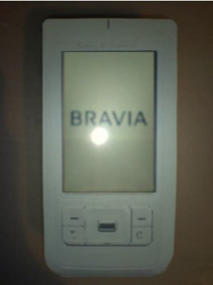 Móvil de Sony Ericsson con tecnología Bravia