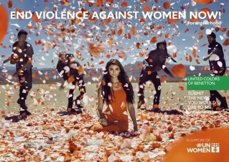 Benetton lanza una colorida campaña por el fin de la violencia contra las mujeres