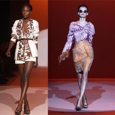 Carolina Herrera Primavera-Verano 2010 en la Semana de la Moda de Nueva York