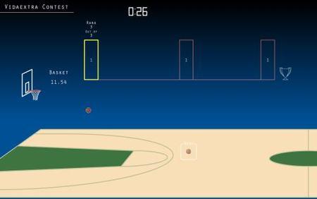 'Basketball'. Cuidado que engancha este juego en flash...