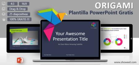 Origami Plantilla Creativa Powerpoint Gratis